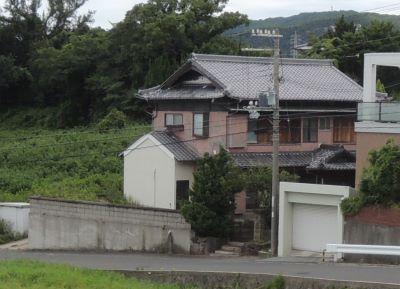 淡路市(旧北淡町)富島…海が見える古家付き土地 ※予約1入りました。