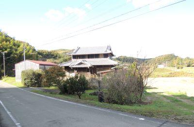 のどかな田園風景の中の戸建住宅…中古住宅…淡路市山田甲※予約1入りました。