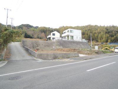 淡路市(旧東浦町)久留麻の高台の土地2…建築条件なし
