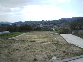 淡路市生穂…大阪湾一望!うぐいすの丘 D号地